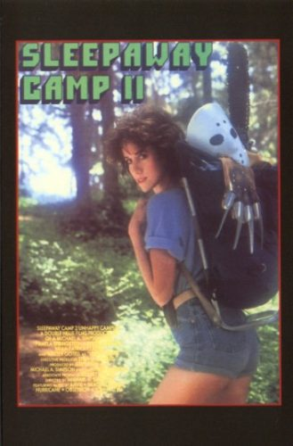 sleepaway camp 2 unhappy campers dvd insert