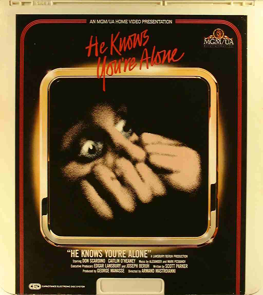 he knows youre alone 1980 movie