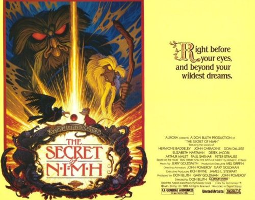 Secret of NIMH Theatrical Poster