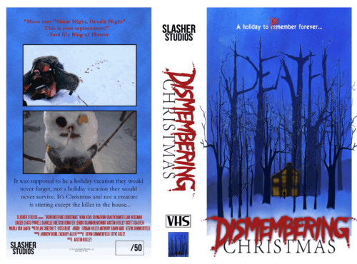 Dismembering Christmas VHS