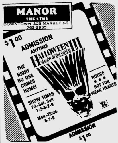 Halloween III Season of the Witch newspaper ad